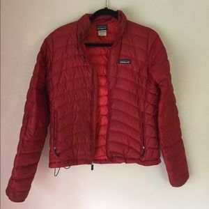 Patagonia // Red Down Jacket